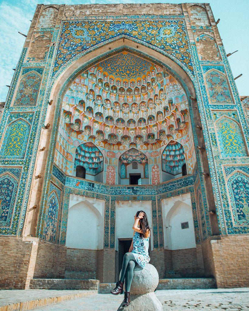 uzbekistan abdulaziz khan madrasah