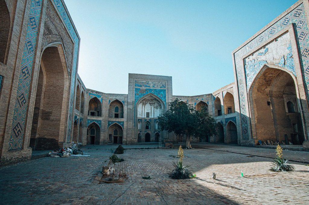 ancient architecture of bukhara uzbekistan