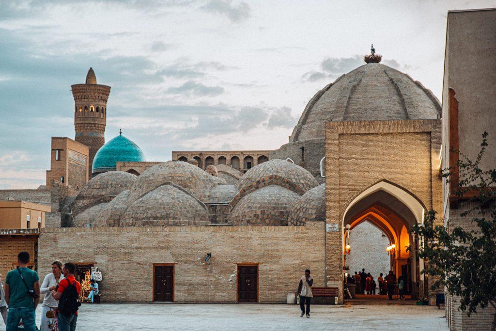 uzbekistan trading domes