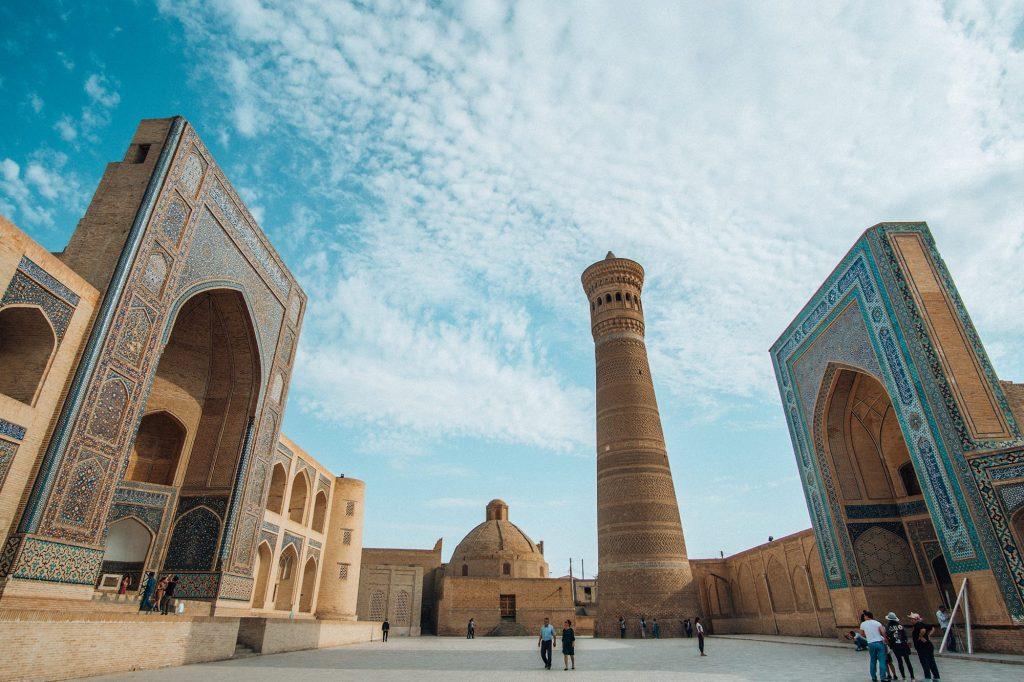 uzbekistan po i kalyan minaret complex