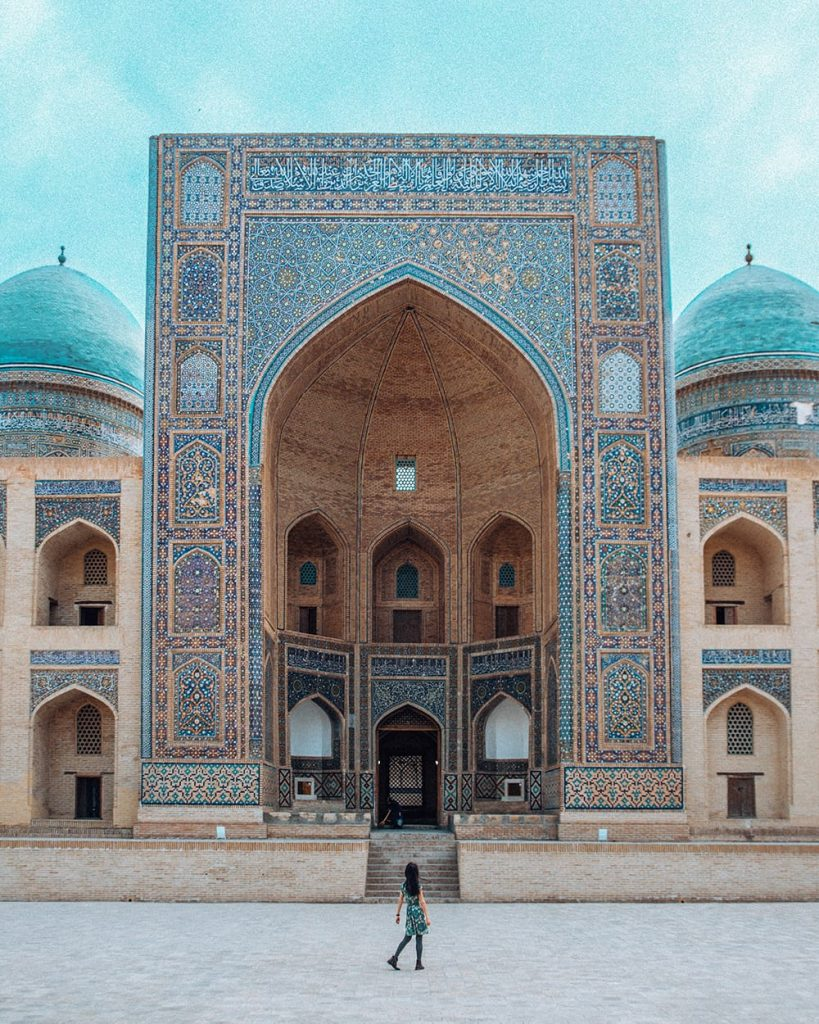 po i kalyan complex in bukhara uzbekistan