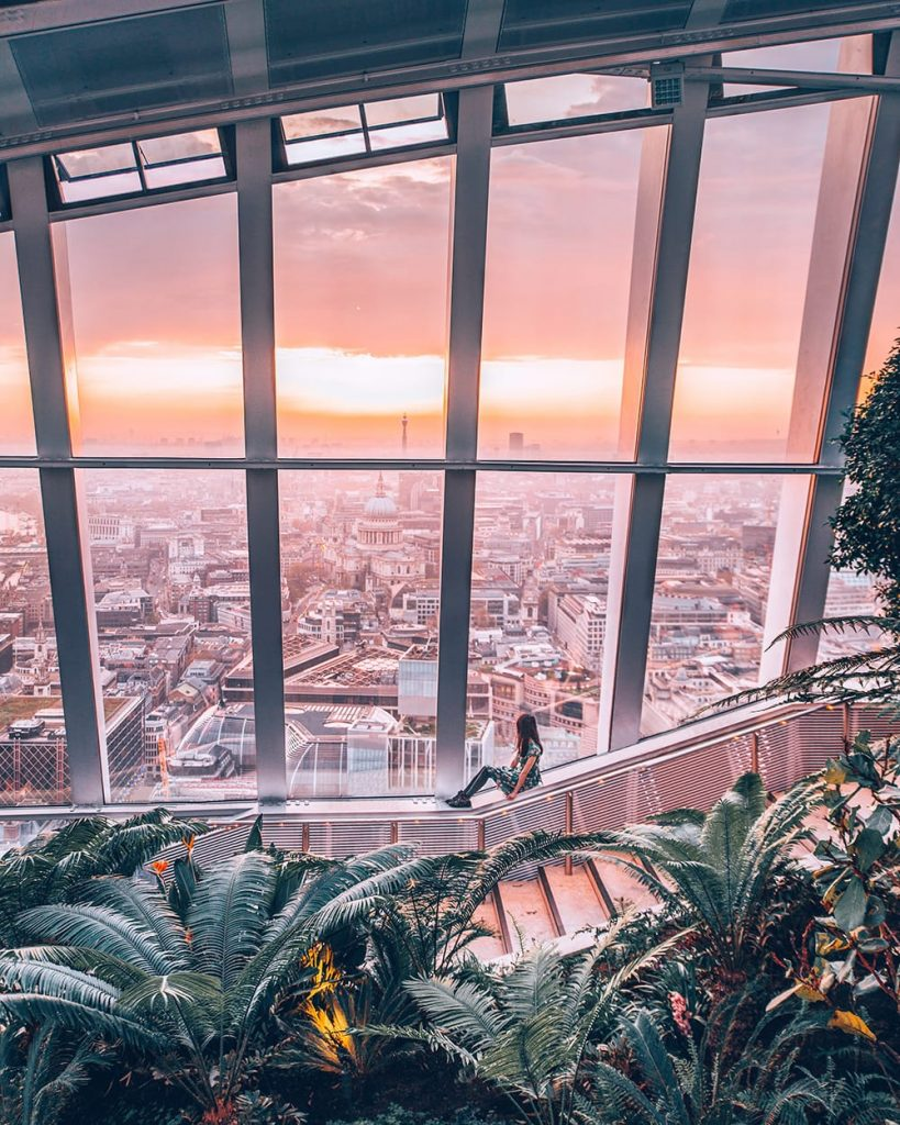 the diary of a nomad jiayi wang about me sky garden london