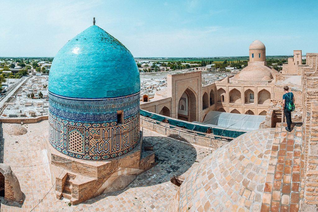 chor bakr memorial complex in bukhara uzbekistan