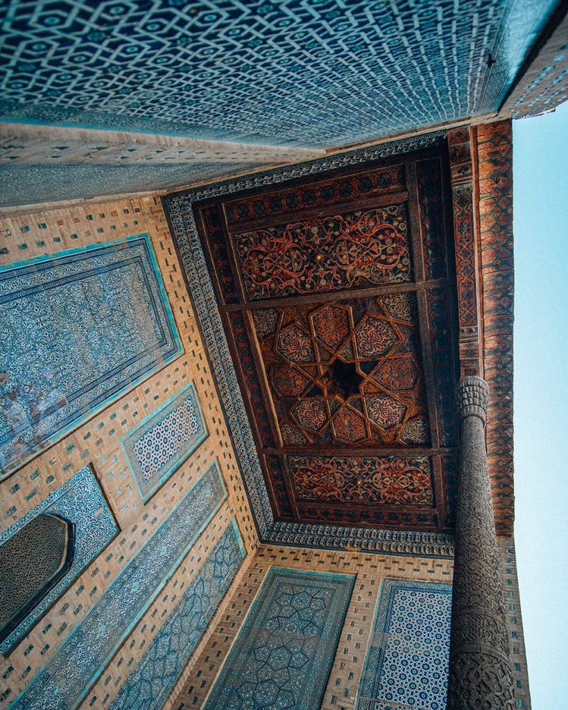 tash hauli palace in khiva uzbekistan