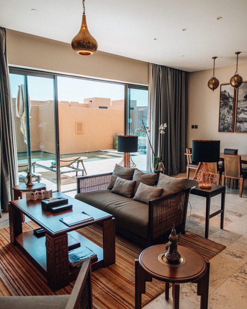 room inside anantara jebel akhdar resort