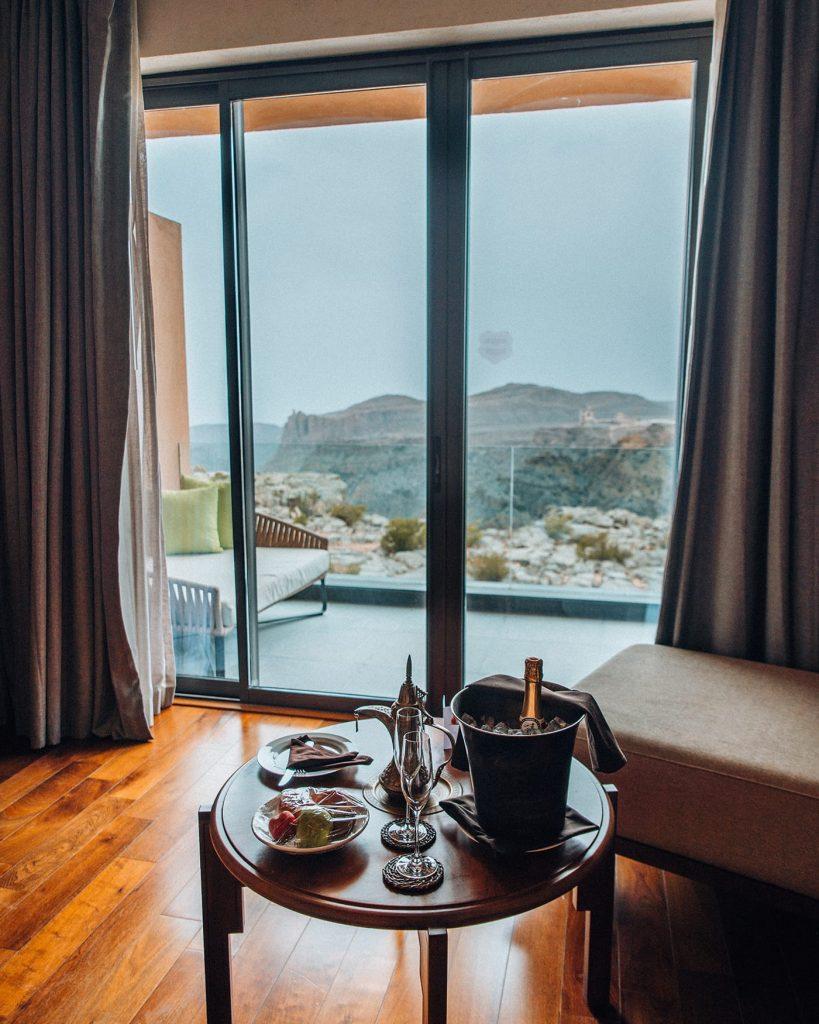 room in anantara jebel akhdar resort