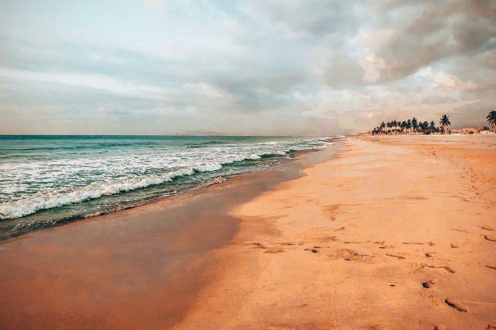 shatti al qurum beach in muscat