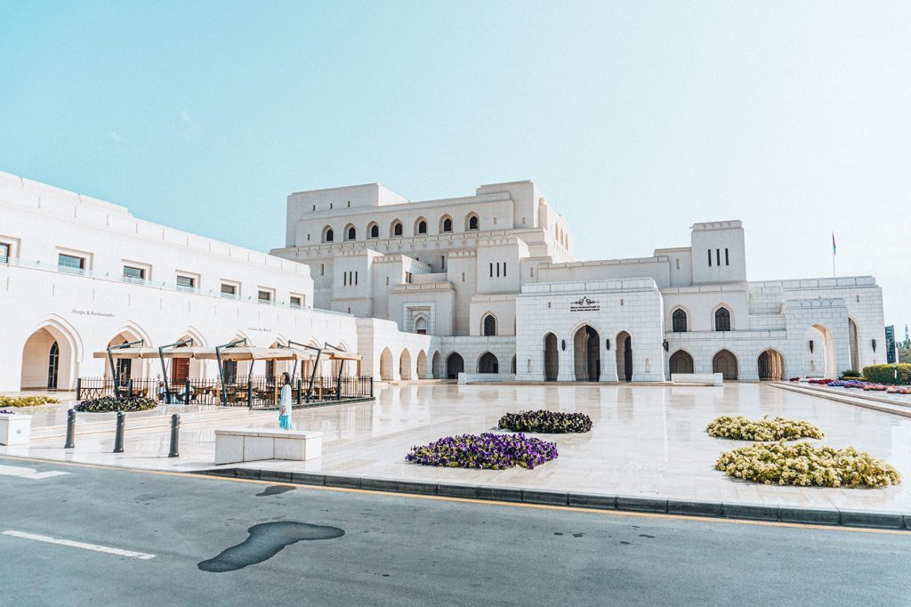 royal opera house in muscat