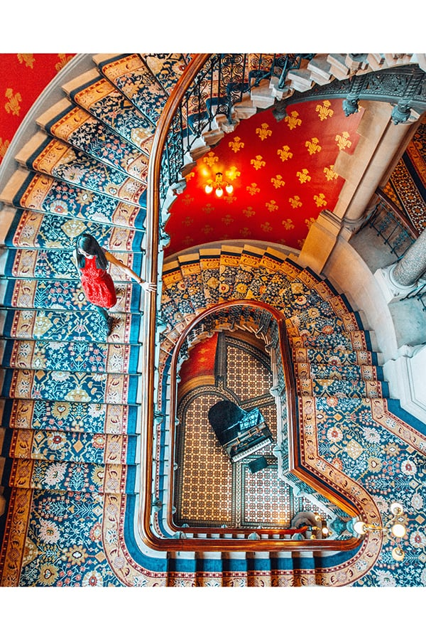 St. Pancras Renaissance Hotel, One of the Best London Instagram Spots