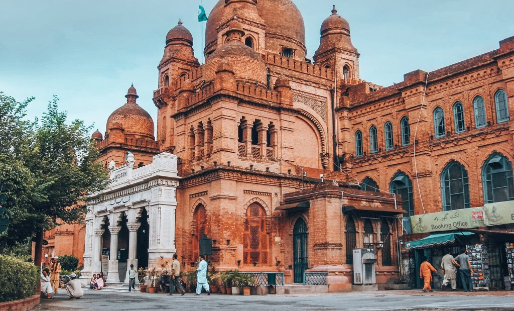 lahore museum in the city of lahore in pakistan