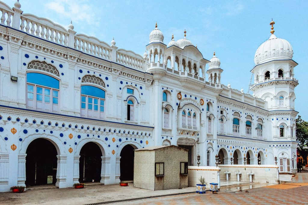 a Sikh gurdwara in nankana sahib in pakistan