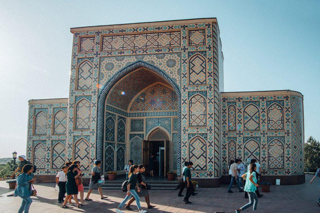 architecture of Ulugh Beg observatory uzbekistan