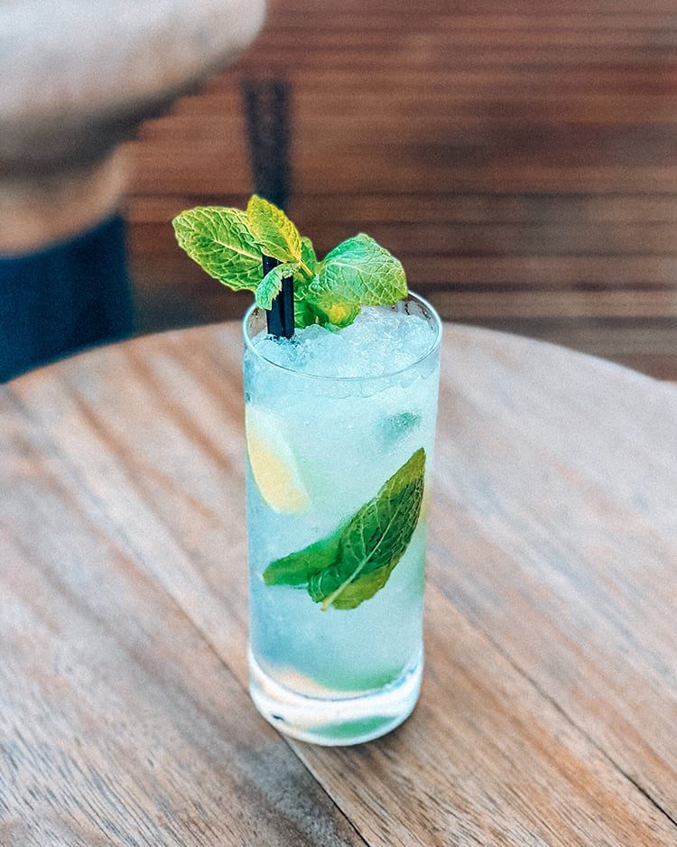 rebujito a local drink in seville spain