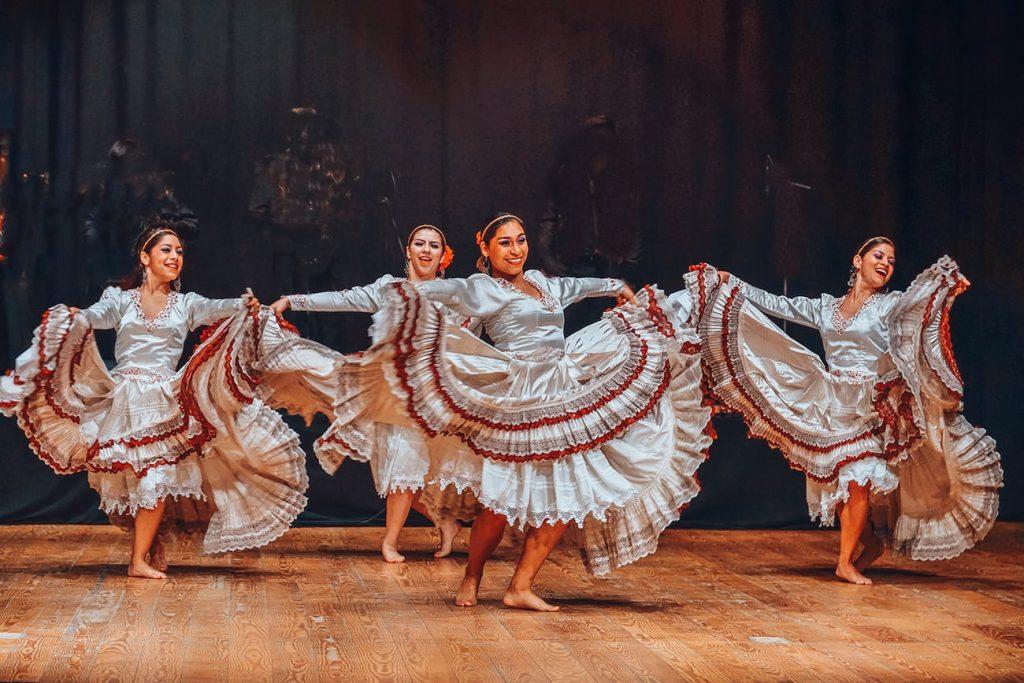 dancers in a flamenco show in spain