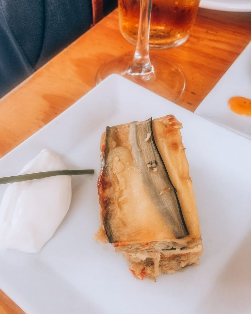 a vegetable tapas dish in spain