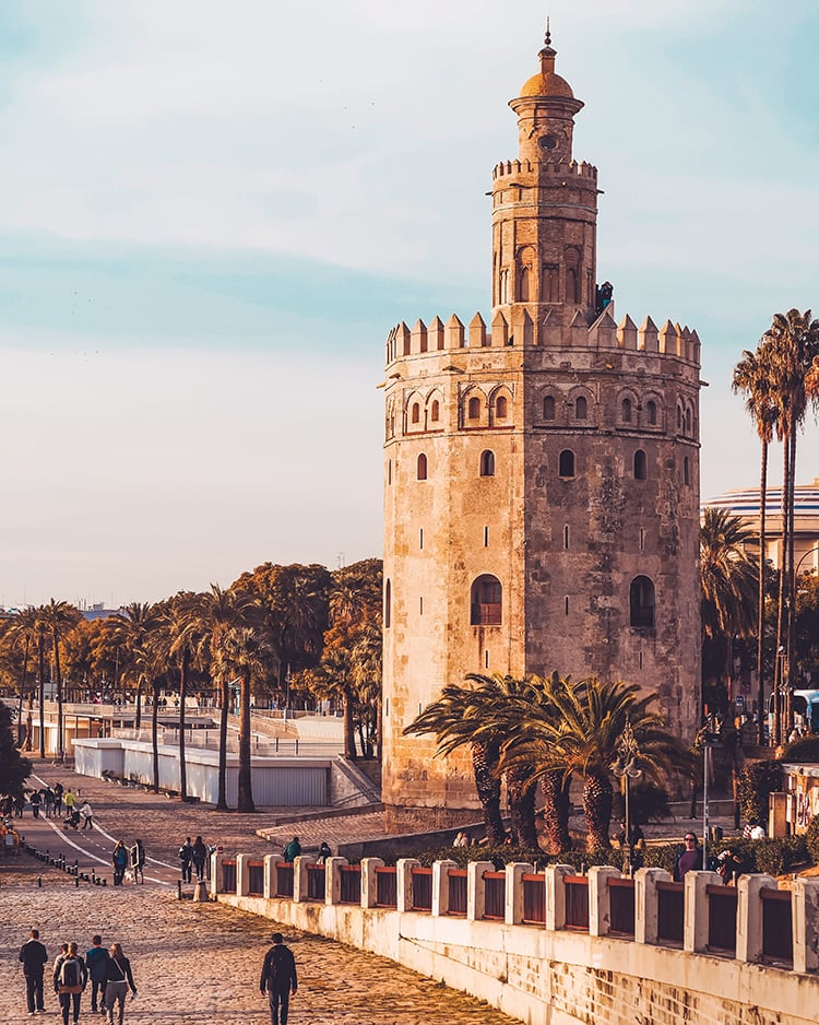 torre del oro in seville spain