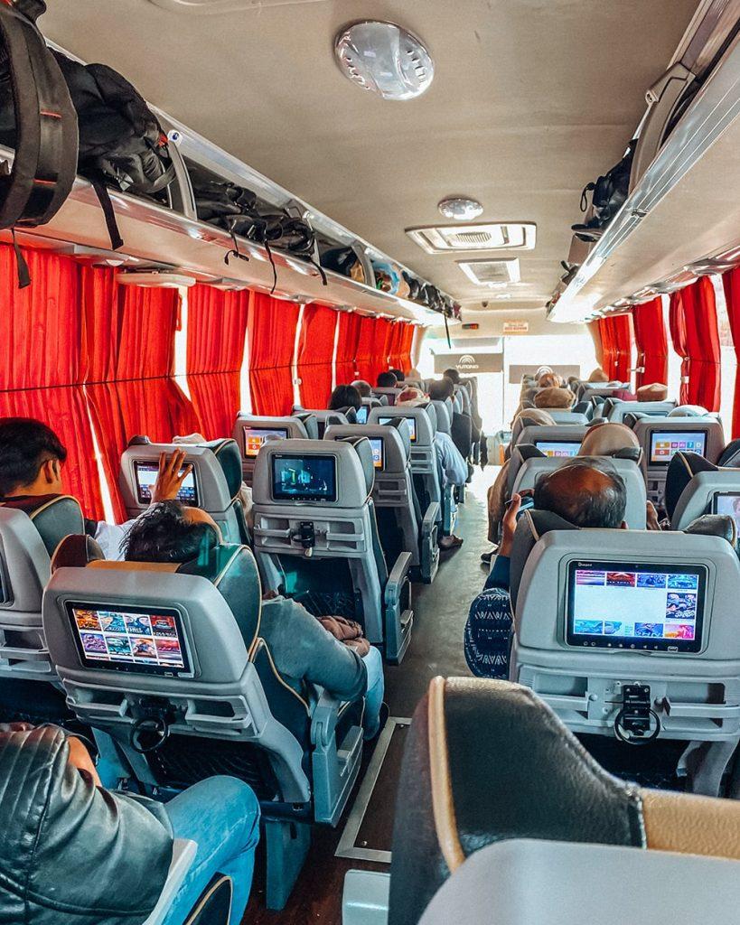 faisal movers bus in pakistan