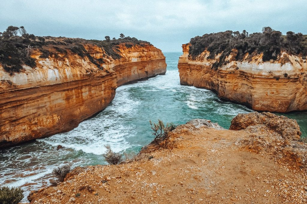 the Loch Ard Gorge in australia