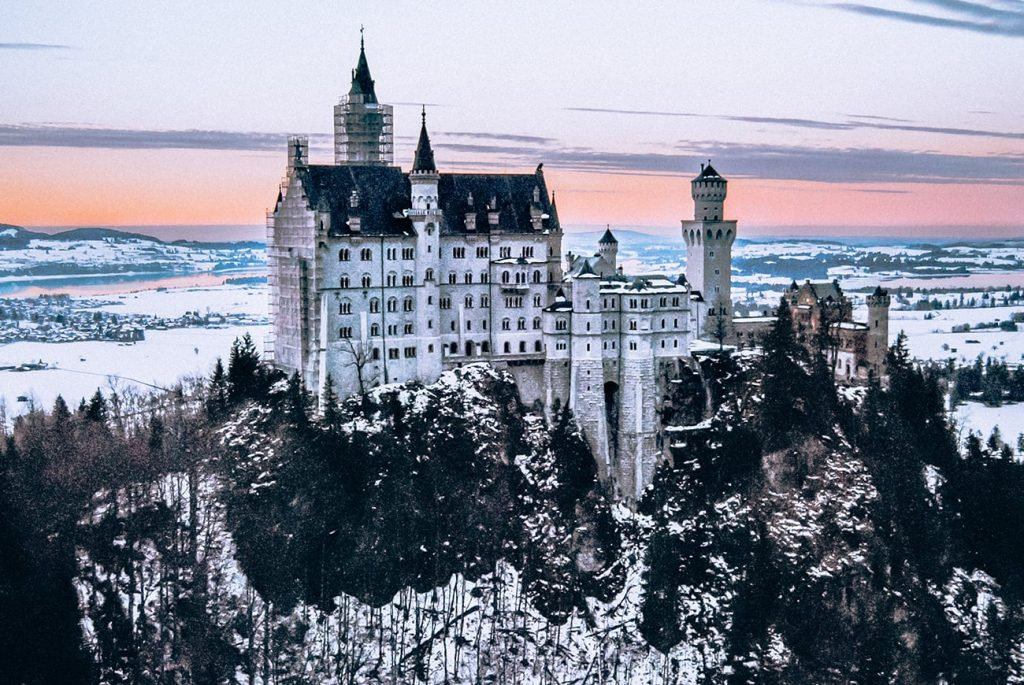 schloss neuschwanstein castle in bavaria germany