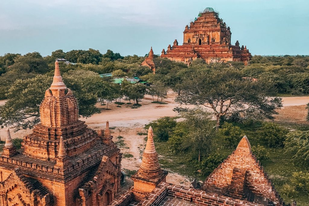 the ancient temples of bagan myanmar