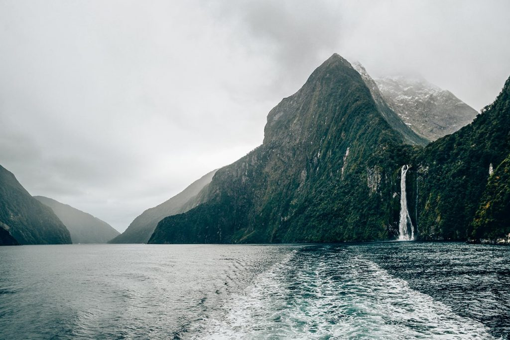 milford sound in southern new zealand