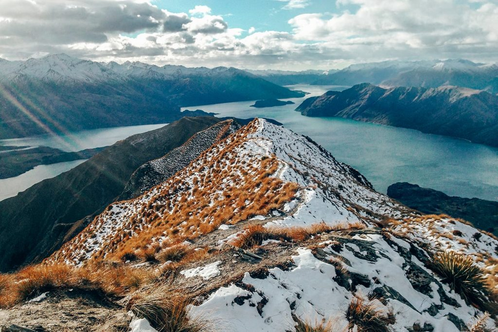 the landscapes of mount roy in wanaka new zealand