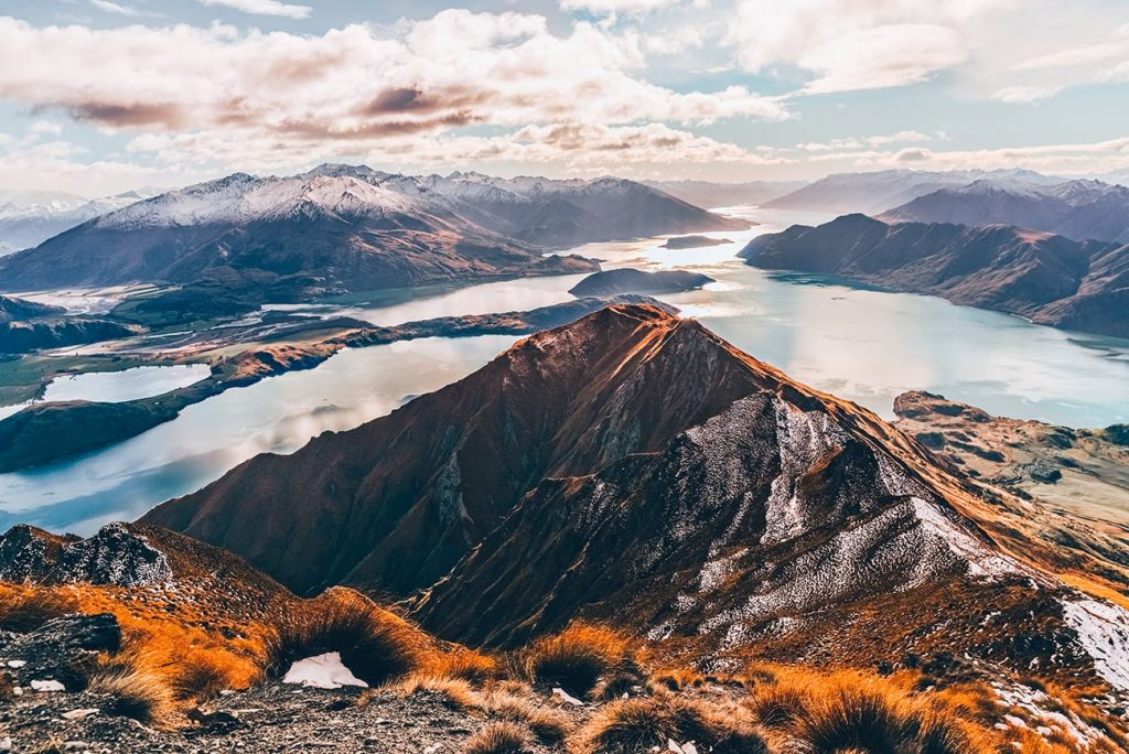 Mount Roy in Wanaka, New Zealand