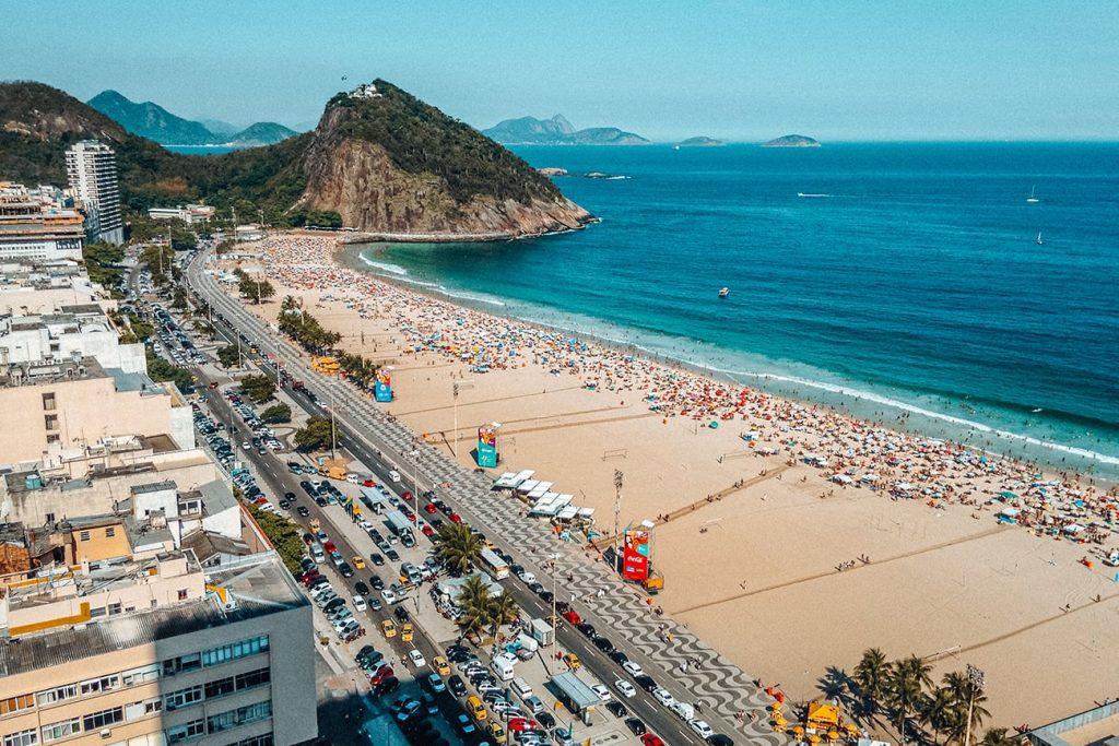 the beach in rio de janeiro brazil