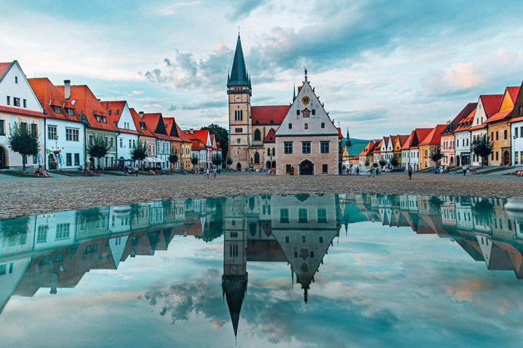 The Architecture of Bardejov in Slovakia