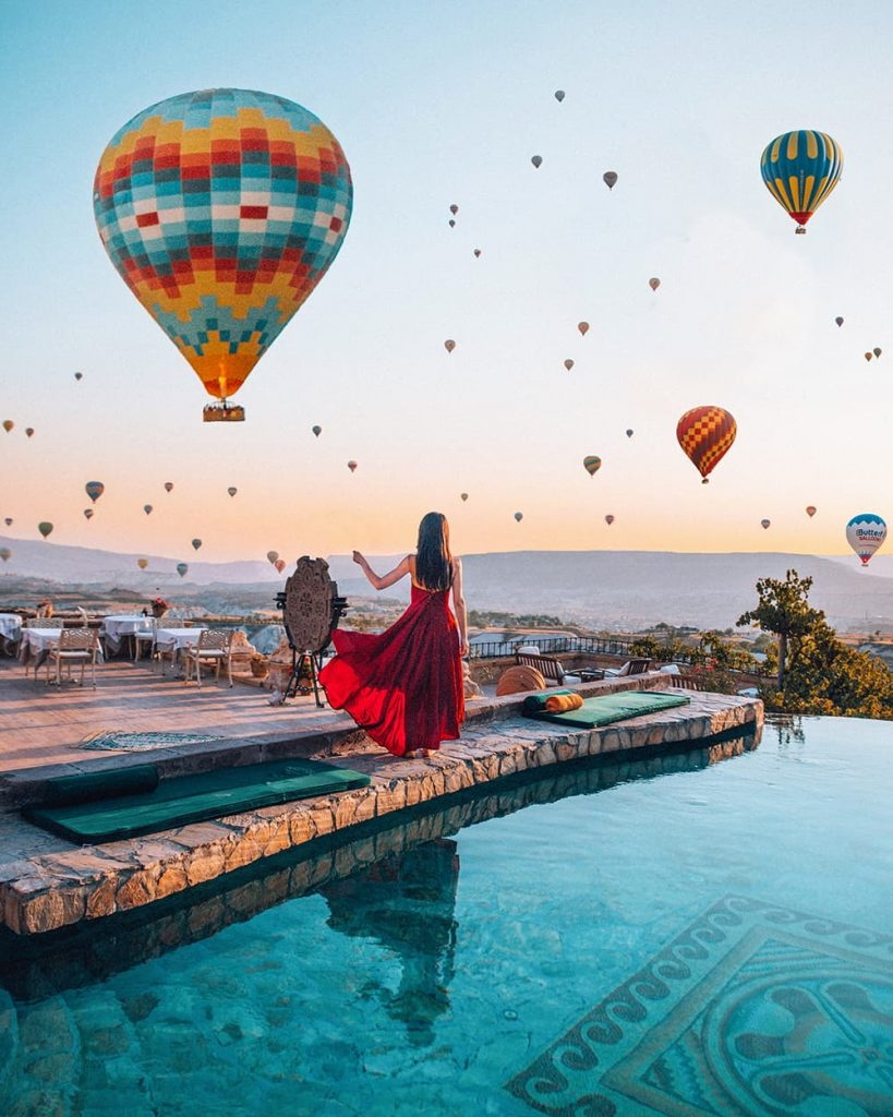 Hot Air Balloons in Cappadocia, Turkey - One of the Dream Holiday Destinations in the World