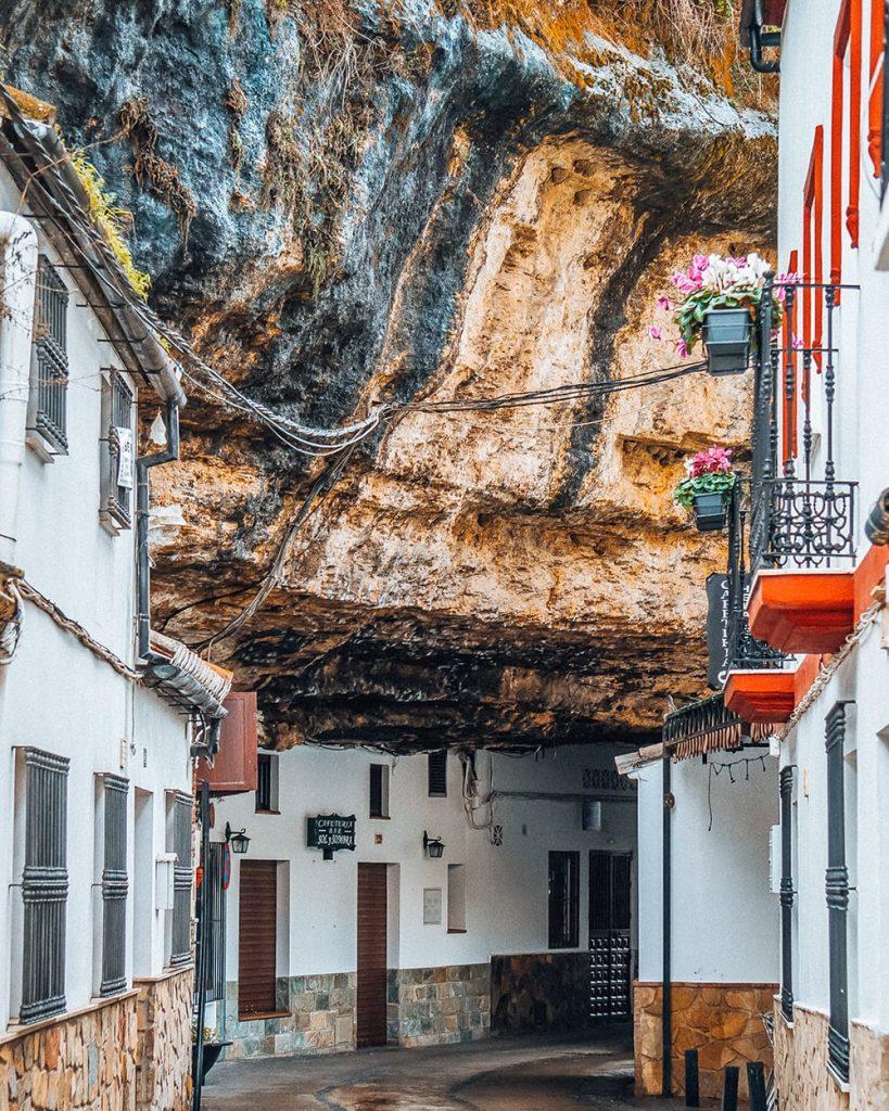 houses in Setenil de las Bodegas spain
