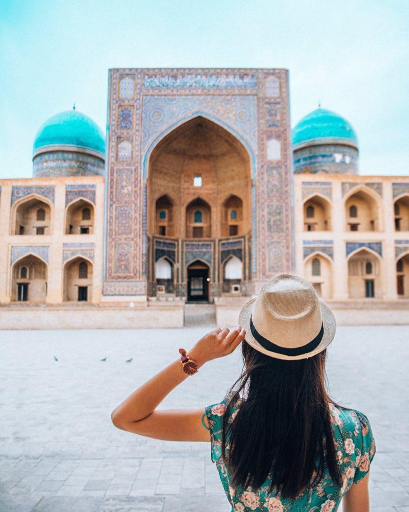 po i kalyan in bukhara uzbekistan