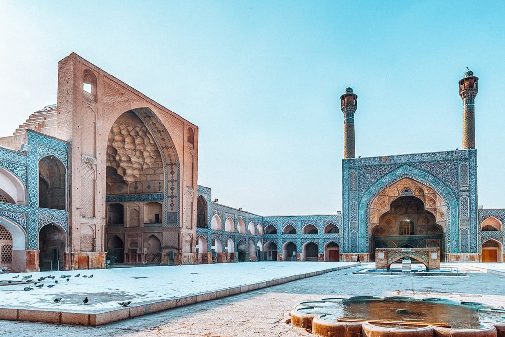 Jameh Mosque in Isfahan, Iran