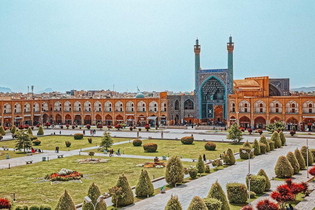 Naqshe Jahan Square in Isfahan, Iran