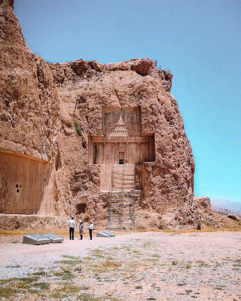Naqshe Rostam Necropolis in Iran