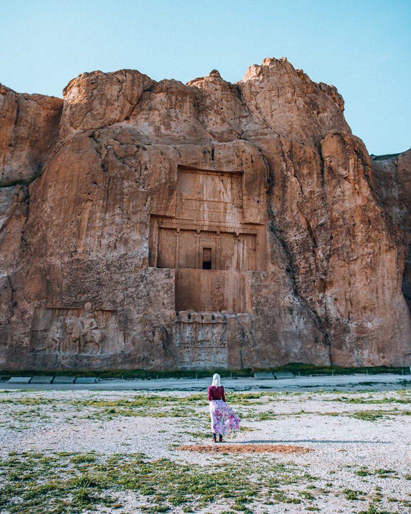 Naqshe Rostam Near Persepolis, Iran