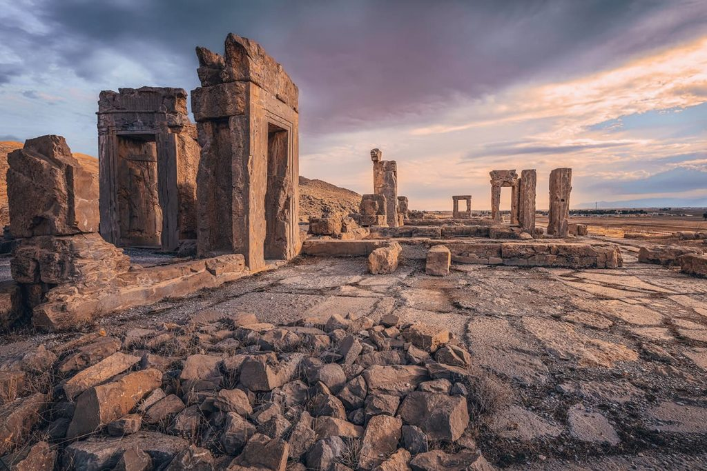 The Ancient Ruins of Persepolis in Iran