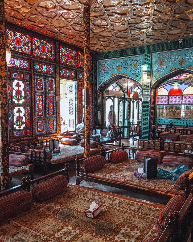 Naghshe Jahan Restaurant in Isfahan, Iran