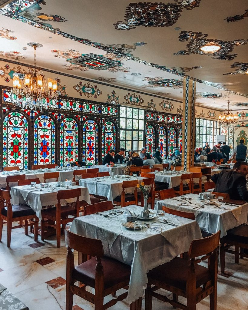 Shahrzad Restaurant in Isfahan, Iran