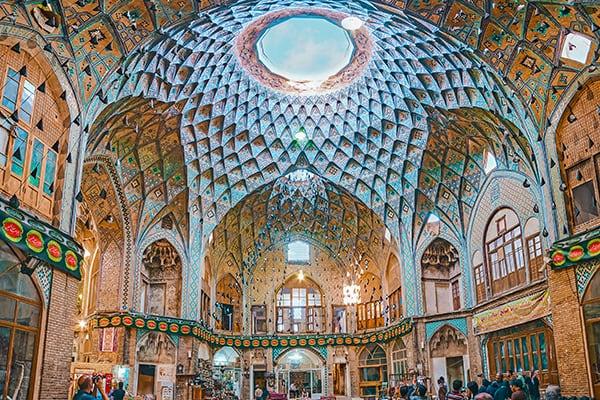 Kashan Bazaar in Iran