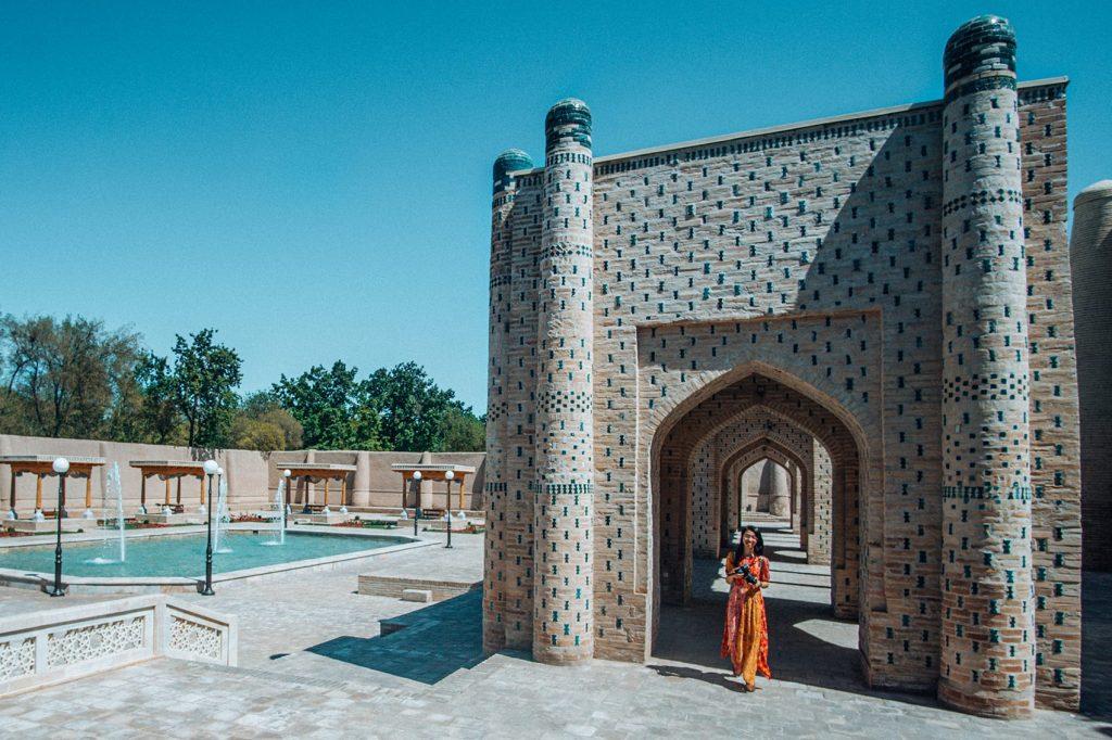 Isfandiyar Palace in Khiva Uzbekistan