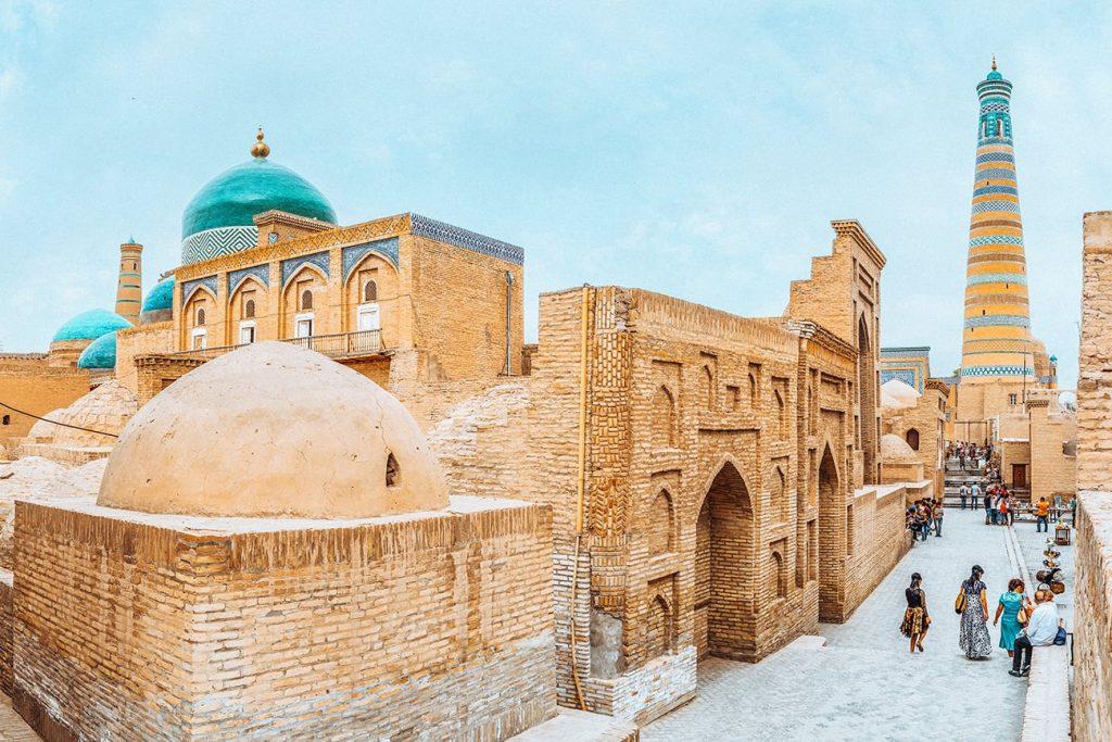 The Ancient Itchan Kala of Khiva, Uzbekistan