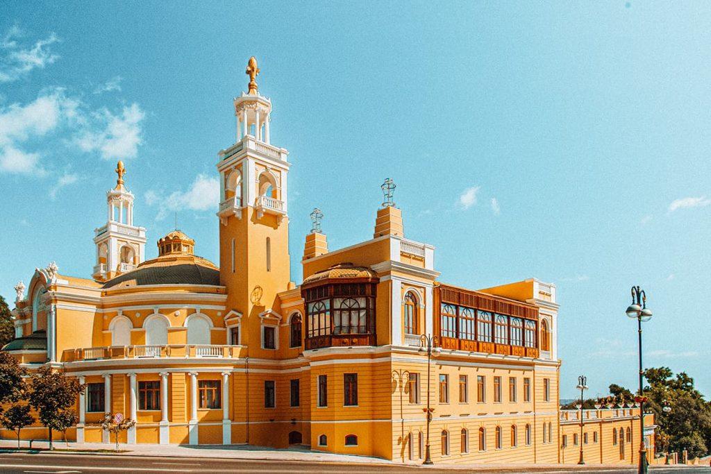 The Azerbaijan State Philharmonic Hall in Baku