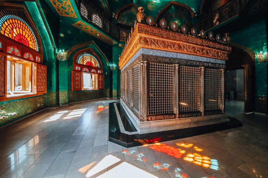 The Interior of Bibi Heybat Mosque in Baku, Azerbaijan