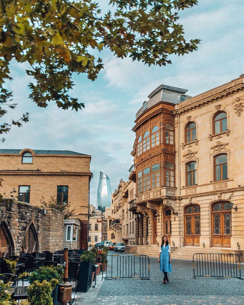 Icherisheher, the Old Town of Baku, Azerbaijan