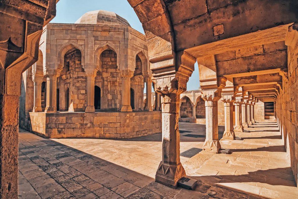 The Palace of the Shirvanshahs in Baku, Azerbaijan