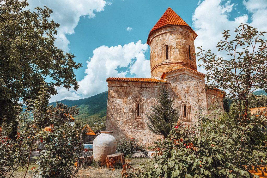 Church of Kish in Sheki, Azerbaijan