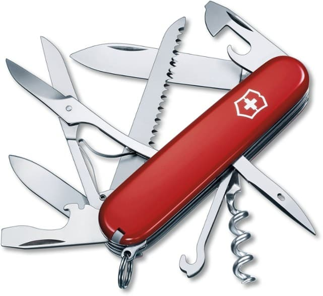 Swiss Army Knife for Hiking, Camping, and Backpacking