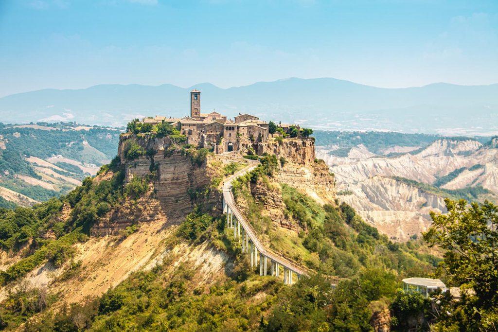 Civita di Bagnoregio, a Hilltop Village in Italy