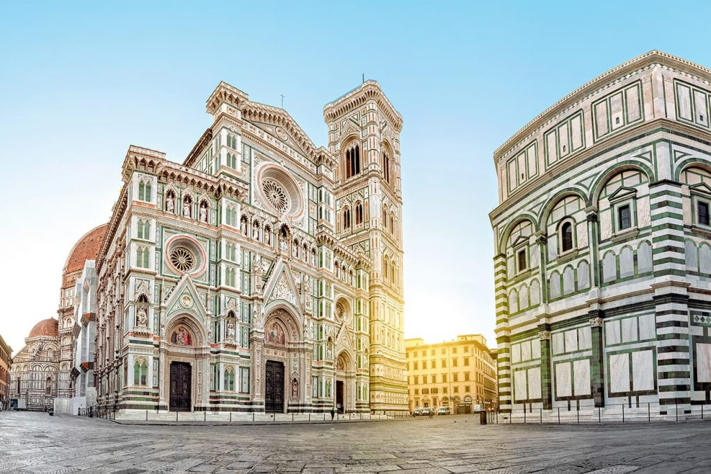 The Duomo of Florence in Italy